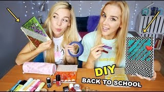 DIY ZESZYTY BACK TO SCHOOL