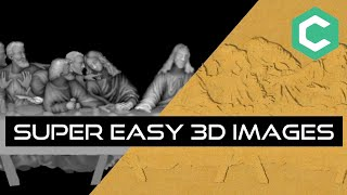 Carbide Create Pro Tutorial - Easy 3D Images with Grayscale Relief