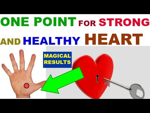 Acupressure Heart Point - Acupuncture Acupressure Points