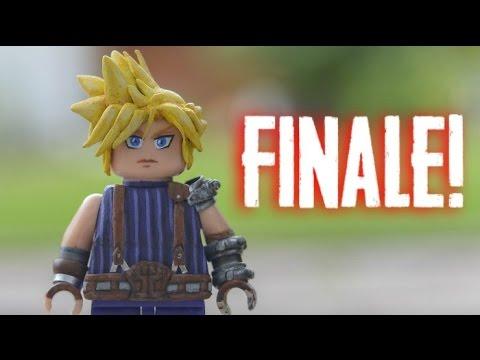 Custom LEGO minifig Final Fantasy Cloud Strife