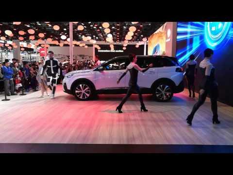 Nowy Peugeot 5008 - prezentacja podczas Auto Shanghai 2017