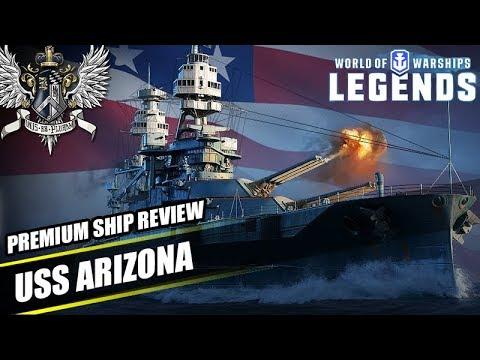 WoWS: Legends - USS Arizona