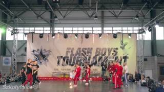 Finał Breakdance Formacje na Flash Boys Tournament 2016