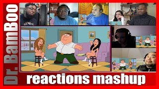 Try not to laugh challenge! Family Guy - Funny Christmas Moments REACTIONS MASHUP