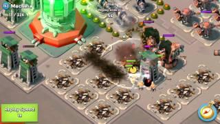 DEAD END ALL ATTACKS FULL CLEAR | Boom Beach | Warrior Grenadier Tanks Heavy Zookas