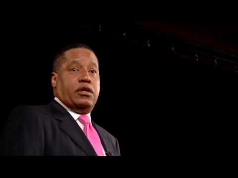 LARRY ELDER: Black Men Crushed By Excuses, NOT 'Racism'; Talks On Hating & Reconciling w/ His Father