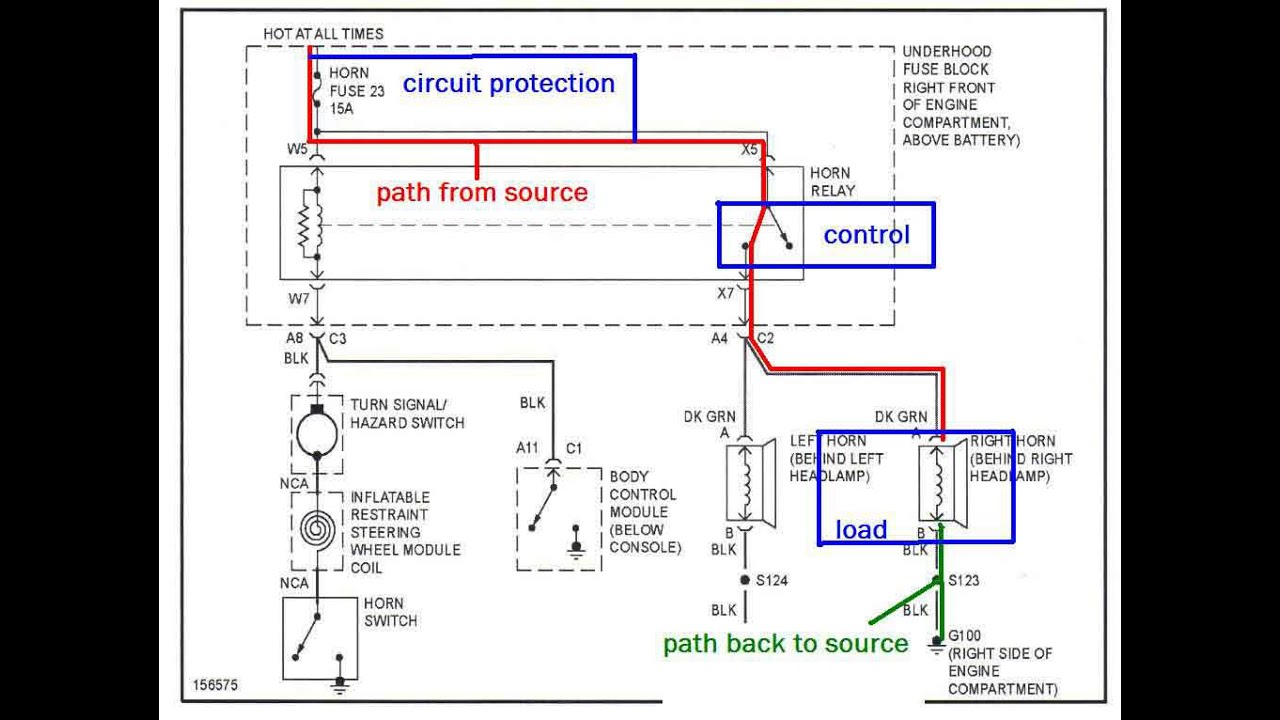 maxresdefault the trainer 32 how to read an automotive block wiring diagram wiring schematics for cars at gsmx.co