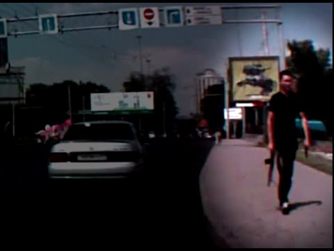 Strolling with assault rifle: Suspected gunman in Kazakhstan police killing caught on camera