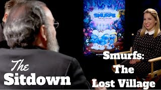 The Sitdown: SMURFS - Demi Lovato, Joe Manganiello, Mandy Patinkin On Being Blue