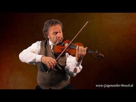 Geigenatelier Brusch | sehr alte Violine mit Zettel  Francesco Gobetti