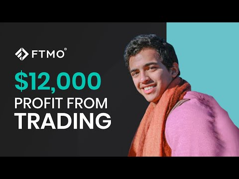 This FTMO Trader made $12,000 in one month of Forex trading   FTMO