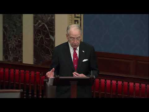 Grassley  The Clock is Ticking to Address the Fentanyl Crisis