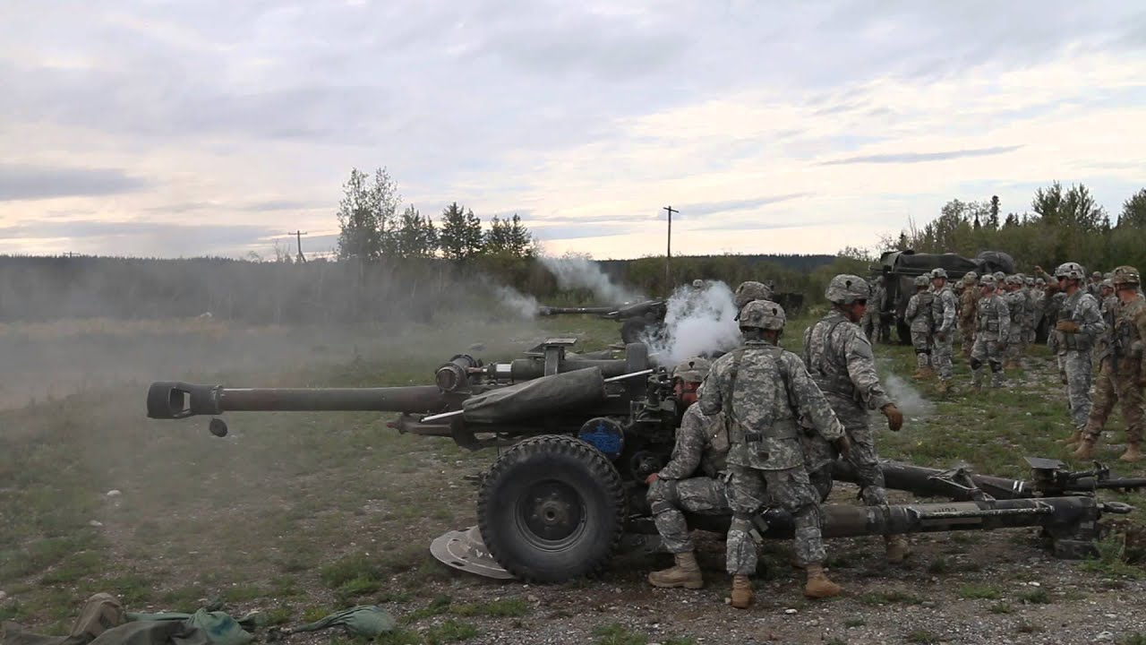 Uncut direct fire drill m119 howitzer youtube for Direct flame