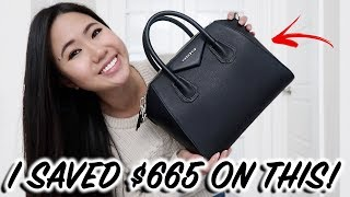 How I Saved $665 On A NEW GIVENCHY SMALL ANTIGONA + Unboxing, Review, & First Impressions