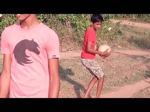 Students at Horizon Academy, Ralapanawa Playing Volleyball During a Break