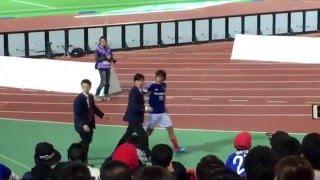 2016年1stステージ第9節 横浜F・マリノス0-1湘南ベルマーレ 試合後に...
