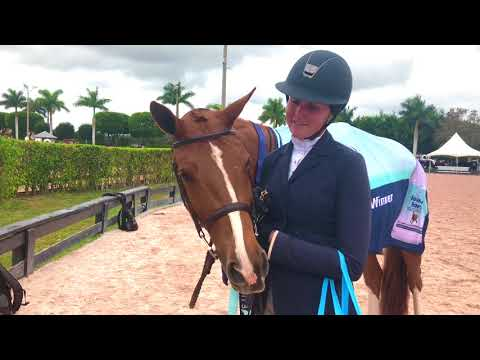 Omega Alpha Healthy Horse Award Winner WEF 6