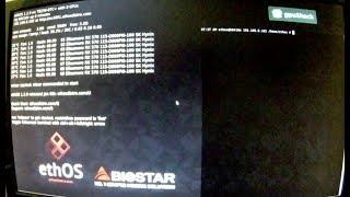 ethOS instal, установка и настройка