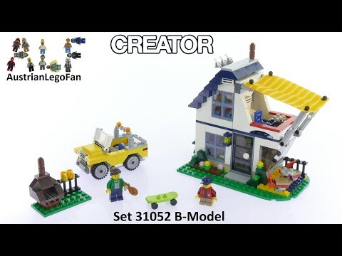 Lego Creator 31052 Vacation Getaways Model 2of3 - Lego Speed Build Review