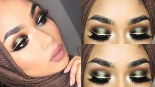 HOW TO: Double eyeliner and khaki halo eyeshadow tutorial  | Sabina Hannan
