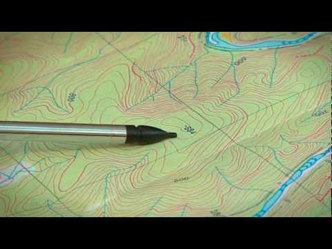 How To Read A Topographical Map Youtube