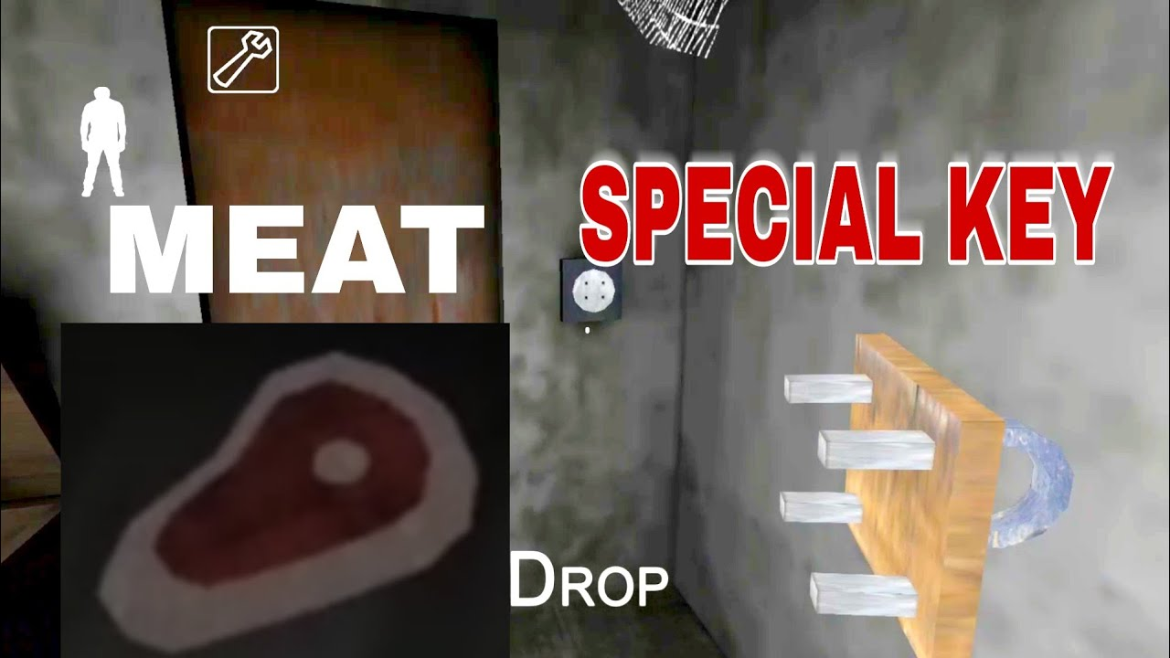 d8a0e3cbf429 Granny special key/meat locations:version 1.5 - YouTube