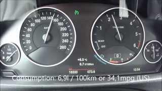 BMW 320d xDrive Touring Fuel Consumption Test
