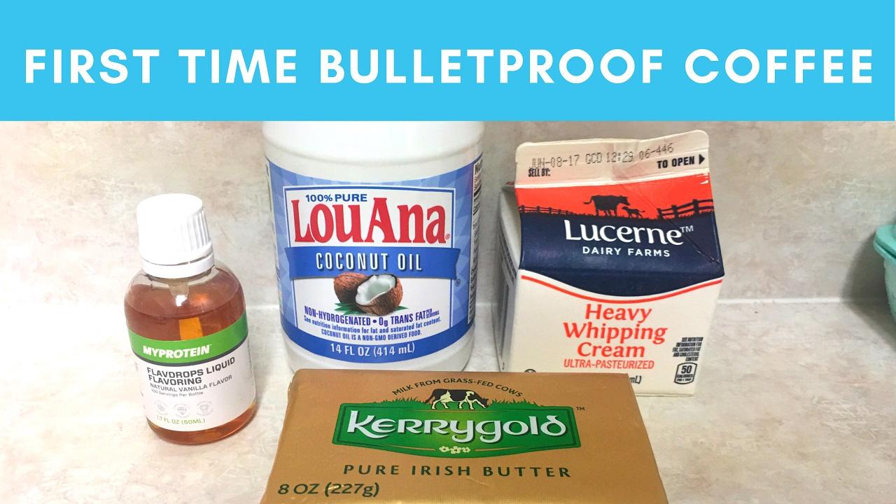 bulletproof coffee with cream