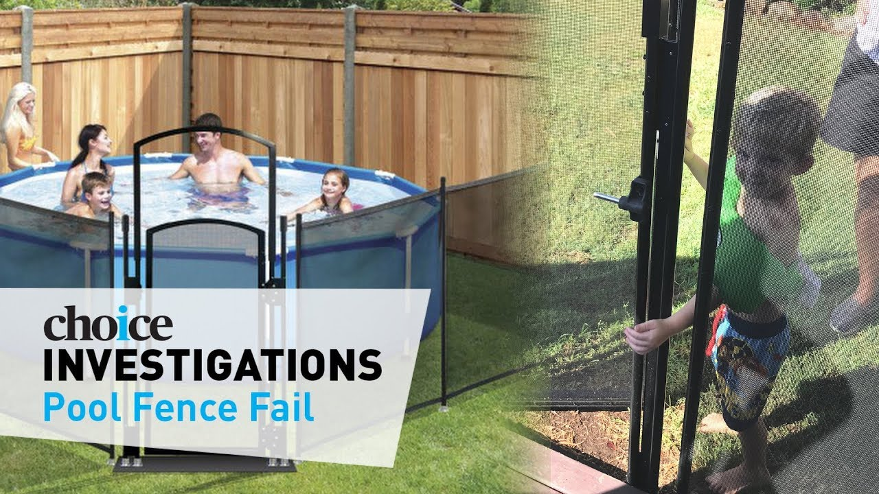 Clark Rubber Pool Fence Fail 4 Year Old Foils It Youtube