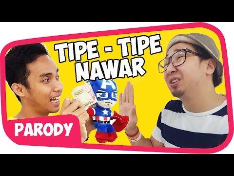 10 TIPE NAWAR Di INDONESIA Wkwkwkw
