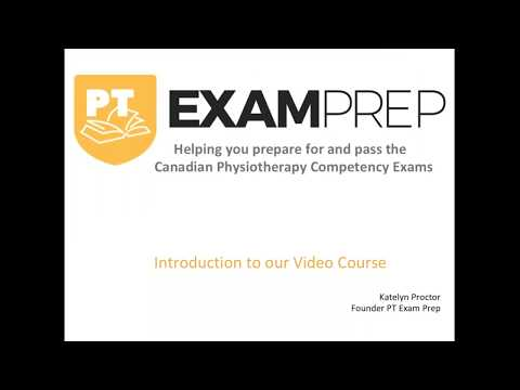 PT Exam Prep Written Course Options