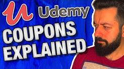 Udemy Promo (Coupon) Codes Explained