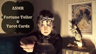 ASMR | Fortune Teller reads your Tarot Cards