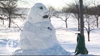 Repeat youtube video Polar Vortex 2014: A Dispatch From Chilly Chicago | The New York Times