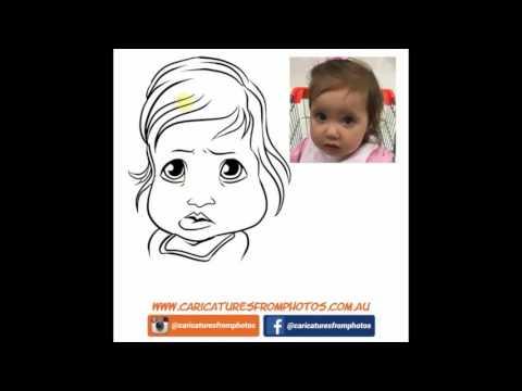 FREE Digital Caricature Sketch Perth - 06