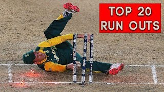 Top 20 Best Run Outs in Cricket History Ever HD | Cric Plus 2017