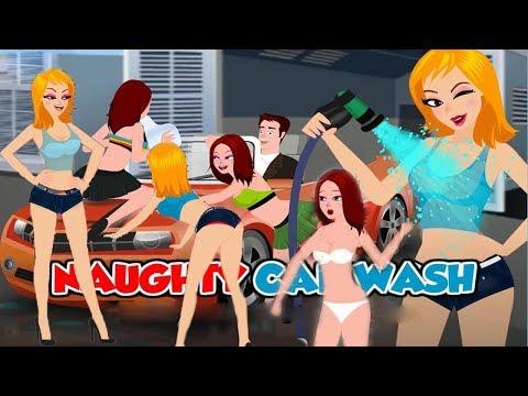 NAUGHTY CAR WASH (flash Game)