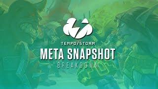 Tempo Storm Wild Meta Snapshot Breakdown | December Balance Patch | [Hearthstone]