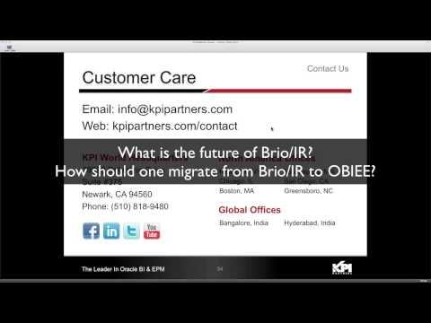 Hyperion Interactive Reporting - Overview of Oracle Hyperion Interactive Reporting by BISP Trainingsиз YouTube · Длительность: 32 мин13 с