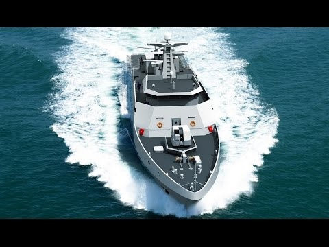 Modern military equipment: Philippines purchased patrol vessels from France