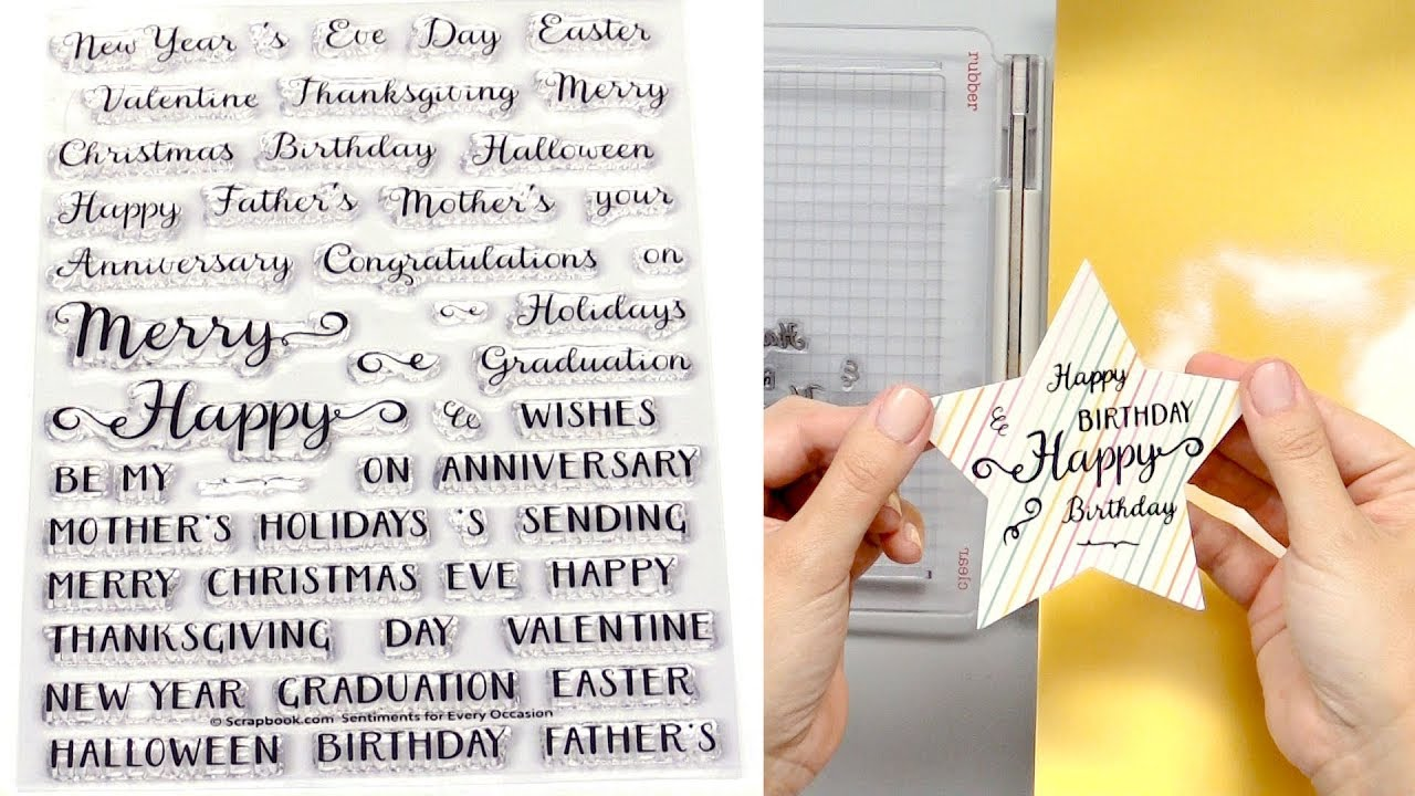How to Create Unique Cards for Every Occasion with One Stamp Set ...