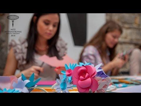 Paper Fashion Workshop - Ankert - Miss International Hungary Szépségverseny 2014