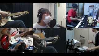 夏雪ランデブー OP SEE YOU を演奏してみました。 [Vocal] ラムセスⅡ世 - Ramesses The 2nd [Guitar] ボーグ - vogue [Keyboard] Dandee [Bass] アンジュ - anzyu ...