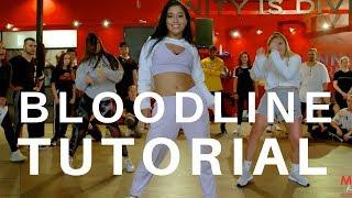 Bloodline - Ariana Grande DANCE TUTORIAL| Dana Alexa Choreography