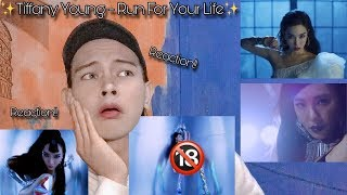 PERFECT GIRL!!! Tiffany Young - Run For Your Life MV Reaction #RFYL
