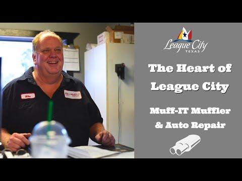The Heart of League City| Muff-IT Muffler & Auto Repair