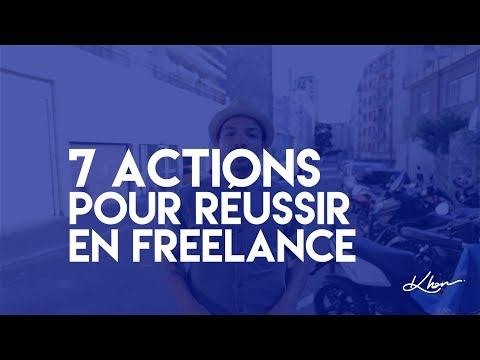 7 actions pour reussir en freelance