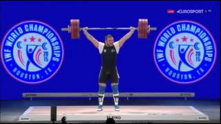 2015 World Weightlifting  105 kg Group A