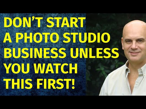 How To Start A Photo Studio Business | Including Free Photo Studio Business Plan Template