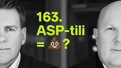 ASP-tili = 💩? | #rahapodi 163
